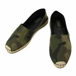 Unused exhibits Valentino Garavani Espadrille Camouflage 42 26.0 26.5cm [Accessories] ★