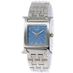 エルメス HERMES Hウォッチ HH1 210 レディース 腕時計 ブルー 文字盤 クォーツ ウォッチ 【腕時計】★