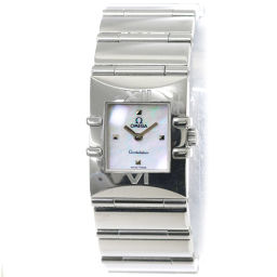 Omega OMEGA Constellation Carre 1521 71 Women's Watch White Shell Watch [Watch] ★