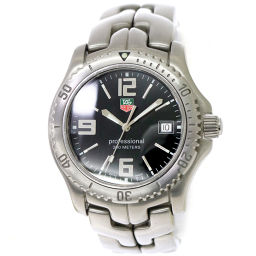 Tag Heuer TAG HEUER Link Professional WT1110 Men's Watch Black [Watch] ★
