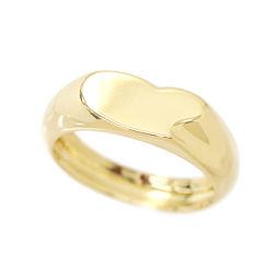ティファニー ハート リング 10号 K18YG 18金 750 指輪 TIFFANY&Co. 【BJ】★