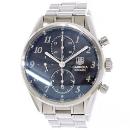 TAG Heuer Carrera Heritage CAS2110 Chronograph Men's Watch Date Black [Watch] ★