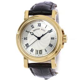 Breguet BREGUET Marine 2 Large Date 5817BA Men's Watch K18YG Yellow Gold [Watch] ★