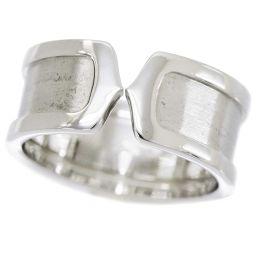 カルティエ Cartier 2C リング LM #63 K18WG 18金ホワイトゴールド 750 C2 指輪 【BJ】★