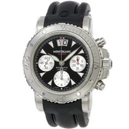 Montblanc MONTBLANC Sport Flyback 7059 Chronograph Men's Watch [Watch] ★