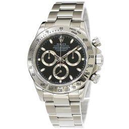 ロレックス ROLEX デイトナ 116520 D番 クロノグラフ メンズ 腕時計 ブラック 文字盤 【腕時計】★