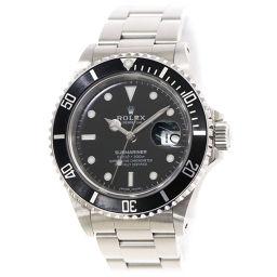 ロレックス サブマリーナ デイト 16610 L番 メンズ 腕時計 ブラック 文字盤 オートマ 自動巻き 【腕時計】★