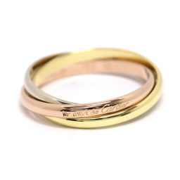カルティエ Cartier トリニティ リング #52 K18YG/WG/PG 3連 18金 750 指輪 【BJ】★