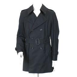 Aquascutum Trench Coat Black Size 36 Men [Apparel] ★
