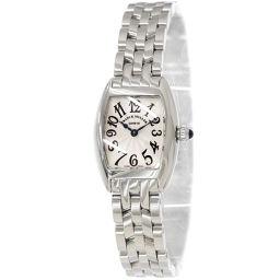 Franck Muller Tonneau curvex Petit 2502QZ Ladies watch Silver Dial [Watch] ★