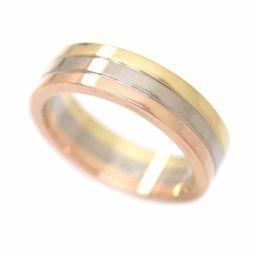 カルティエ トリニティ リング #46 K18YG/WG/PG スリーゴールド 3カラー 18金 750 指輪 【証明書付き】 【BJ】★