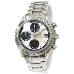 オメガ スピードマスター デイト 3211 31 クロノグラフ メンズ 腕時計 シルバー 文字盤 オートマ 【腕時計】★