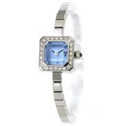 Corum Sugar Cube Diamond Bezel 137 426 47 Ladies Watch Blue Dial Watch [Watch] ★