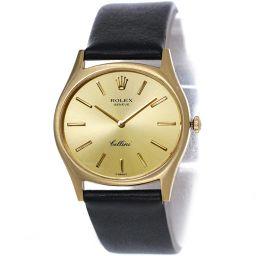 ロレックス ROLEX チェリーニ 3806 K18YG 手巻き メンズ 腕時計 Cal.1600 イエローゴールド 【腕時計】★