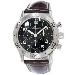Breguet Aero Naval Type XX 3800ST Chronograph Men's Watch Black Dial [Watch] ★