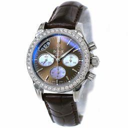 オメガ デビル クロノグラフ コーアクシャル 422 18 35 50 13 001 レディース 腕時計 ダイヤベゼル 【腕時計】★