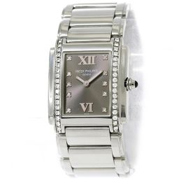 Patek Philippe PATEK PHILIPPE Twenty Four 4910 / 10A-010 Diamond Ladies Watch [Watch] ★
