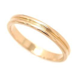 Boucheron BOUCHERON Godron Ring # 59 K18PG 18K Pink Gold 750 Ring [BJ] ★