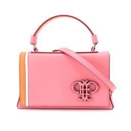 Unused Emilio Pucci pilot 2way hand shoulder bag leather pink 71BD10 [brand] ★