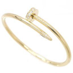カルティエ Cartier ジュストアンクル ダイヤ #15 ブレスレット K18YG 18金 750 【証明書付き】 【BJ】★