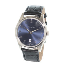 Hamilton HAMILTON Jazzmaster Thin Line H385111 Men's Watch H38511743 Date Quartz [Watch] ★