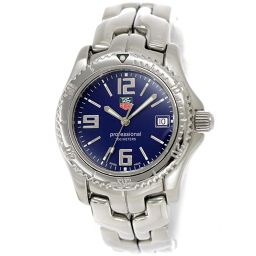 Tag Heuer Link Professional WT1213 Boys Watch Date Navy Dial Quartz [Watch] ★