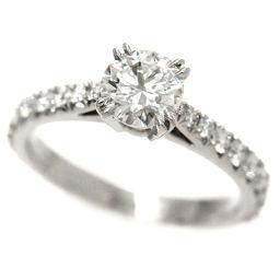 Harry Winston Diamond 0.53ct E / VS2 / 3EX Ring No.4 PT950 [BJ] ★