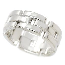 Cartier Mailier Panyon # 58 ring K18WG 18K white gold 750 [BJ] ★