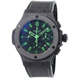 Hublot Big Bang All Black Green 301.CI.1190.GR.ABG11 500 Limited Chronograph Watch [Watch] ★