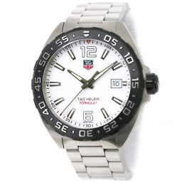 TAG Heuer TAG HEUER Formula 1 WAZ1111 Men's Watch Date White Dial [Watch] ★