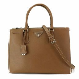 Unused Prada Saffiano Lux Galleria Tote Shoulder Bag Leather 1BA274 [Brand] ★
