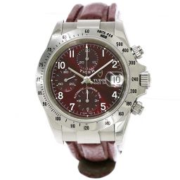 Tudor Chrono Time Tiger 79280P Chronograph Men's Watch Date Bordeaux Dial Automatic winding [Watch] ★