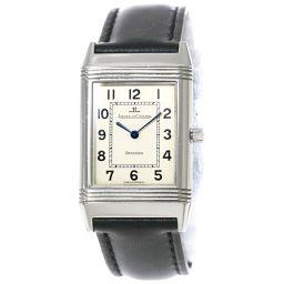 ジャガールクルト JAEGER LECOULTRE レベルソクラッシック 250 8 08 ボーイズ 腕時計 シルバー 文字盤 【腕時計】★