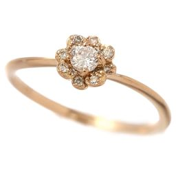 Samantha Tiara Diamond 0.15ct Ring No. 9 K18PG 18K Pink Gold 750 Ring Samantha Tiara [BJ] ★