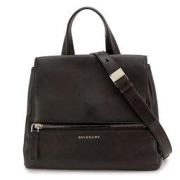 Givenchy Pandora Pure Small Hand Shoulder Bag Leather Black BB05210025 [Brand]