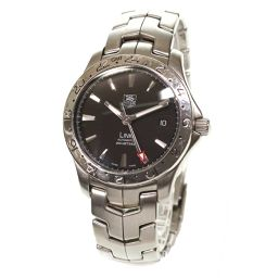 Tag Heuer Link GMT WJF2116.BA0570 Men's watch Date Black Dial Automatic Automatic winding [Watch] ★