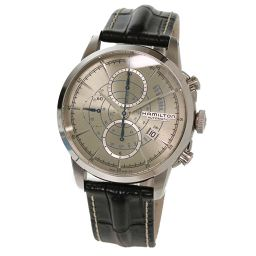 Hamilton HAMILTON Railroad H406560 Chronograph Men's Watch H40656781 Date [Watch] ★
