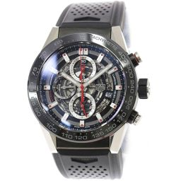 TAG Heuer TAG HEUER Carrera Caliber Heuer 01 CAR2A1Z-0 Chronograph Men's watch [Watch] ★