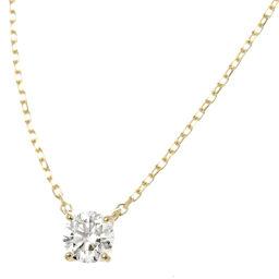 ヴァンドーム青山 ダイヤ 0.284ct H/SI2/EX ネックレス K18YG 40.5cm 18金 【ソーティング付き】 【BJ】★
