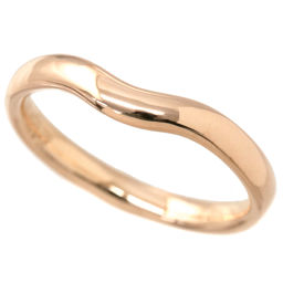 Tiffany Wide Curved Band No. 19 Ring 3mm Width K18PG 18K Pink Gold 750 Ring TIFFANY & CO. [BJ] ★