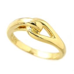 ティファニー ノット リング 8号 K18YG 18金イエローゴールド 750 指輪 TIFFANY&CO. 【BJ】★