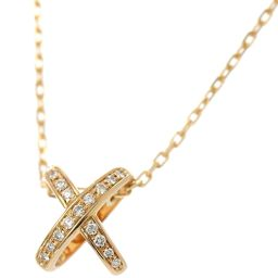Chaumet CHAUMET Rian Do Chaumet diamond necklace 42cm K18PG [with certificate] [BJ] ★