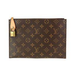 路易·威登(Louis Vuitton)LOUIS VUITTON字母组合旋转木马包手拿包棕色M45287 [品牌]★