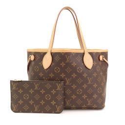 Louis Vuitton Monogram Neverfull PM Tote Bag Brown Pivowanne M41245 [Brand] ★