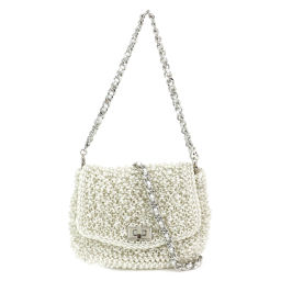 Unused exhibit Anteprima ANTEPRIMA Lucky 2Way hand shoulder wire bag PB10FA1623 [Brand] ★