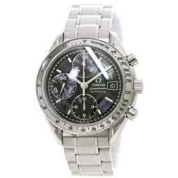 欧米茄Speedmaster Date 3513 50 Chronograph Men's Watch Black Dial Automatic Automatic Watch [Watch]★
