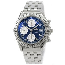 Breitling Chronomat A13352 Chronograph Men's Watch Date Blue Dial Automatic winding [Watch] ★