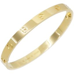 Cartier love breath # 18 K18YG 750 new bracelet bangle [with certificate] [BJ] ★