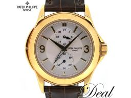 K18 YG / Patek Philippe / travel time / hand winding / mens / 5134J-011