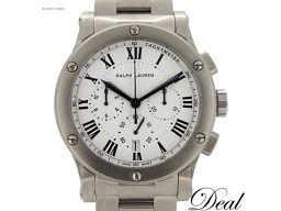 美品 ラルフローレン スポーティングクロノ K02400 自動巻 メンズ 腕時計